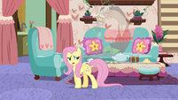 "Fluttershy ""make another version of himself"" S7E12"
