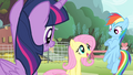 Fluttershy 'are singing at the Pet Center fundraiser' S4E14.png