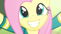 Fluttershy biggest smile S4E14