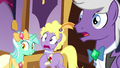 Lyra, Lyrica, and Silver Script shocked S5E7.png