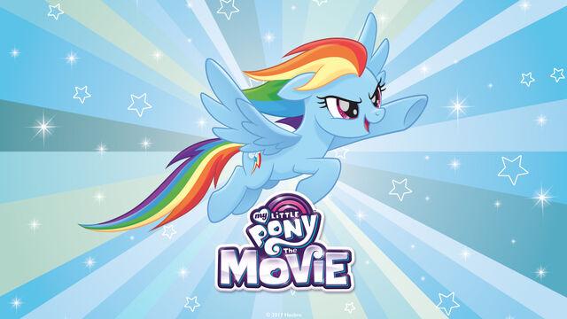 Image MLP The Movie Rainbow Dash desktop wallpaperjpg My