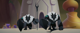 More of the Storm King's soldiers appear MLPTM