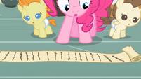 Pinkie Pie quite the list S2E13