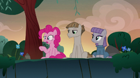Pinkie Pie straining -technically- S8E3