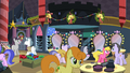 Ponies backstage after the pageant S2E11.png
