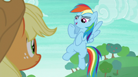 "Rainbow Dash ""sorry, can't hear you"" S8E9"