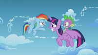 Rainbow Dash --you're a full-grown pony-- S5E25