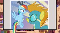 Rainbow showing Spitfire S2E22