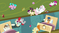 Redheart and foals released from Flurry's magic S7E3.png