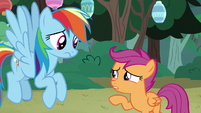 "Scootaloo ""I heard something"" S7E16"