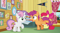 "Scootaloo ""when is she swinging by?"" S7E6"