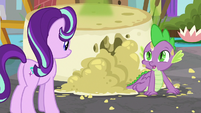 Spike -that does sound kinda helpful- S8E15