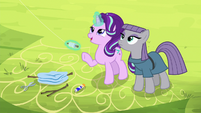 """Starlight """"not to make the spars too heavy"""" S7E4"""