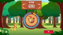 SunsetShimmer Applepicking win MLPMobileApp