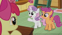 Sweetie Belle -can't wait to see who we're gonna help next!- S5E18