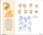 The Art of MLP The Movie page 16 - Applejack concept art