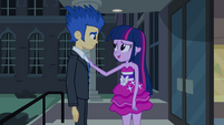 Twilight and Flash -I didn't mean no- EG