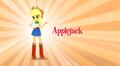 Applejack Equestria Girls music video.png
