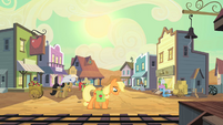 Applejack at Dodge Junction S2E14