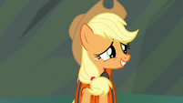 Applejack embarrassed S4E09