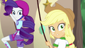 Applejack shocked at Rainbow Dash's bluntness EG4.png