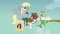 CREW Derpy and animal companions evolutionofascene4.png