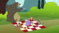 Fluttershy's critter friend's picnic S3E3.png