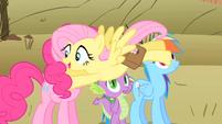 Fluttershy --Pinkie!-- S1E21