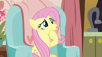 Fluttershy intrigued by Discord's tea S7E12