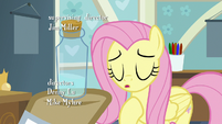 Fluttershy sighing with relief S7E20
