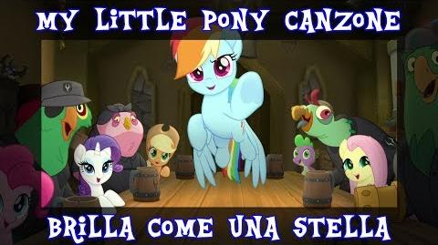 ITA Lyrics CC MLP Il Film Canzone Brilla come una stella FHD HQ