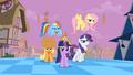 Main ponies Sans Pinkie Pie Confidence S2E2.png