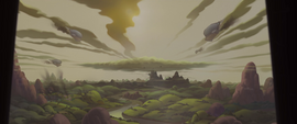 More of Storm King's ships fly toward Canterlot MLPTM