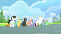 Pegasi stands straight S3E07