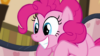 Pinkie Pie excited smile S4E09