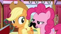 Pinkie Pie mustache S3E9
