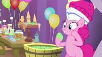 Pinkie thinks melted ice cream is still tasty MLPS5