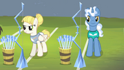 Pizzelle and Royal Pin taking positions S4E24