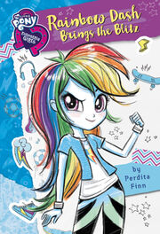 Portada de Rainbow Dash Brings the Blitz