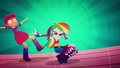 Rainbow Dash's dancing trips up Scootaloo SS3.png