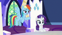 Rainbow Dash -nopony says that- S7E11
