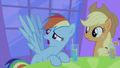 Rainbow Dash talking 2 S2E25.png