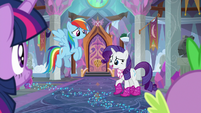 "Rarity ""we wasted our day of fun"" S8E17"