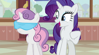 Rarity -okay, we're here!- S7E6