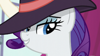 Rarity wears a hat S5E15