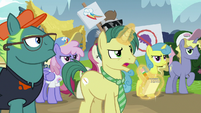 Reporter asks Twilight why she moved to Ponyville S7E14