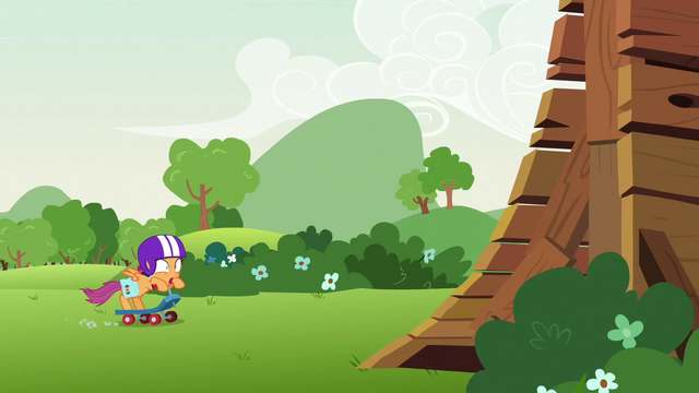 File:Scootaloo speeding toward the ramp S7E7.png