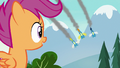 Scootaloo watching the Wonderbolts fly over S7E21.png
