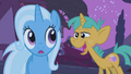 Snails tells Trixie to defeat the ursa S1E6.png