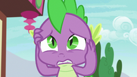 Spike feeling overwhelmingly guilty S7E15
